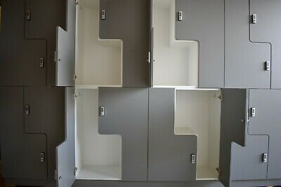 Personal Lockers Gym Factory Staff Changing Locker Cupboard Storage School Wood