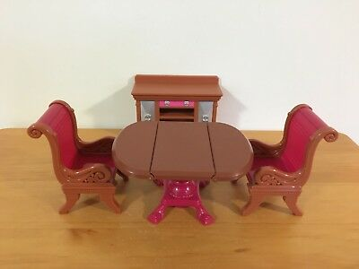 Fisher-Price Loving Family Table Chairs & Buffet Set