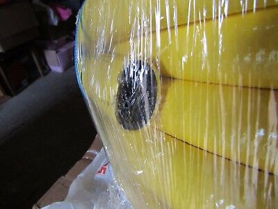 25m x Merlett Plastics Yellow PVC Flexible Hose Tubing 33mm Ext Dia 1005 4323947