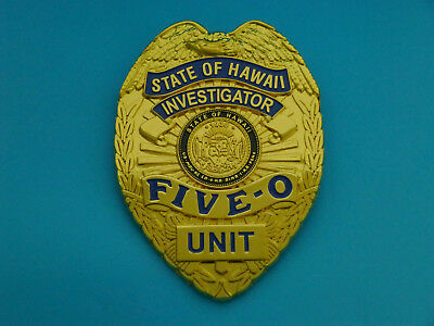 Hawaii Five-0 Badge - TV Dienstmarke - Polizeimarke