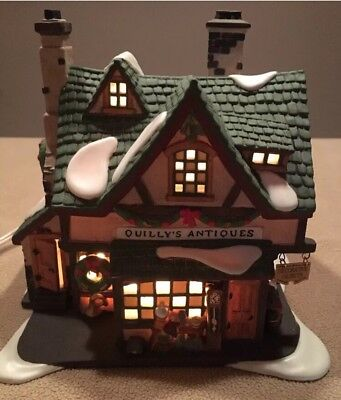 Dept 56~ Dickens Village Series~ Quilly's Antiques # 58348