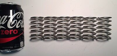 ".148"" Wire Compression Spring Lot Of 6"