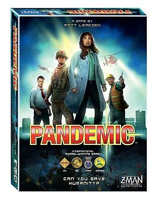 Pandemic Board Game - FREE FAST SHIPPING