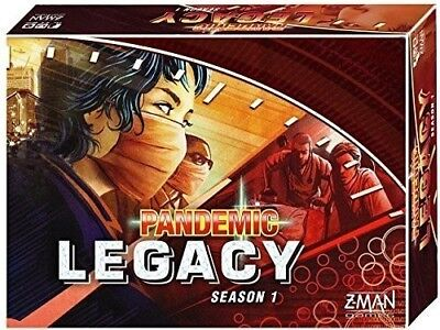 Pandemic Board Game: Legacy Season 1 - Red- Brand New Sealed - FREE FAST SHIPPIN