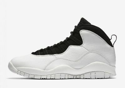 "2018 Nike Air Jordan Retro 10 ""I'M BACK "" White Black 3100805-104 lot Sz: 4Y-14"