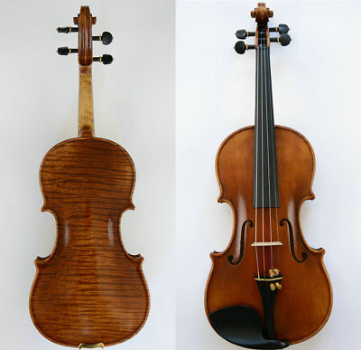 Fabulous Violin Fabulous Sound Master Craftsmanship Dark Brown Oil Varnish
