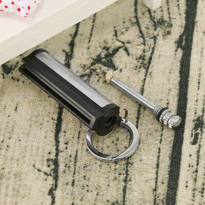 Handy Survival Emergency Camping Fire Starter Flint Match Lighter Key Chain