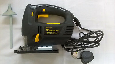 Jigsaw, 650W, Laser Cutting Guide, Variable Speed, spare blades, Instructions