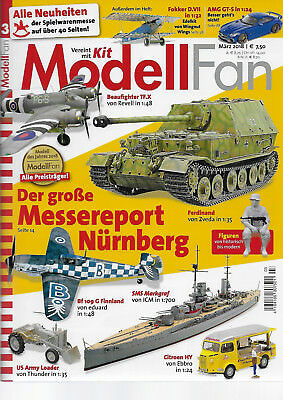 Modell Fan 03/2018 Messereport Nürnberg 2018