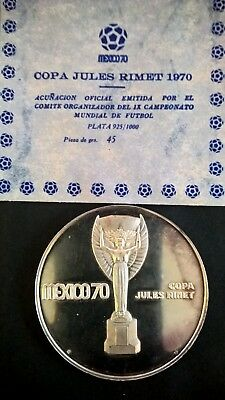 Silbermedaille, Mexico 1970, Copa Jules