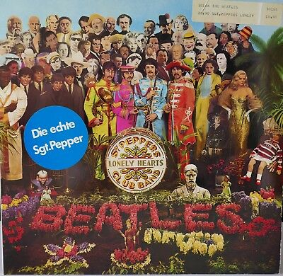 The Beatles LP Sgt. Pepper's lonely hearts club band 1C 07204177 Sticker