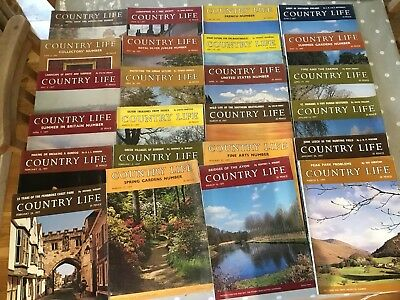 Country Life Magazine Collection - 25 copies. January - June 1977