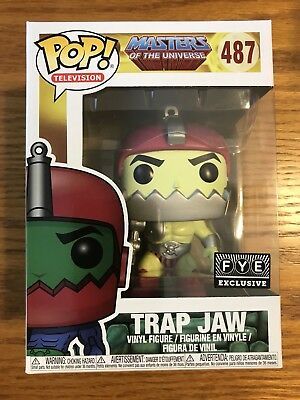 Funko Pop Specialty Series Masters of the Universe Trap Jaw Vinyl Action Figure