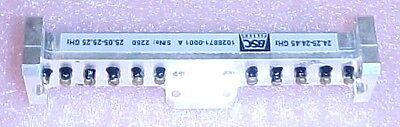 New BSC Waveguide Filter 24.192 GHz Ham Band