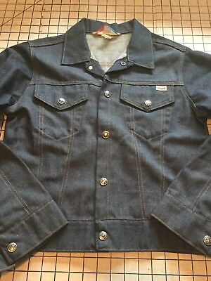Vintage Boys Tough Skins Sears Denim Jacket Size 16