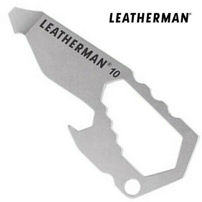 Leatherman BREWZER Keychain Bottle Opener & Pry Tool, Camping, Beer, Soft Drink