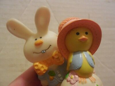 Vintage Hallmark 1976 Merry Miniatures Easter Chick & Barnaby Bunny Collect Sale