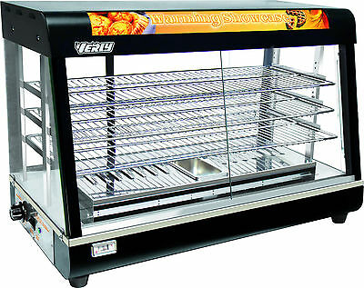 New Heavy Duty Electric Showcase Food Chicken Warmer Display Water Base