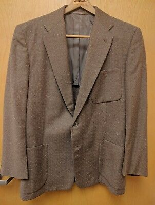 Atomic Fleck Sportcoat from 1955. Center Vent. 40R See Meas. Richman Brothers.