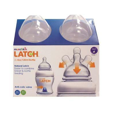 Munchkin Latch Bottle 4oz 120ml unti colic  baby