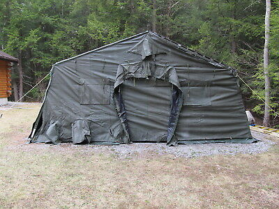 TEMPER TENT END Section - New Old Stock