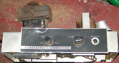 Bell & Howell Filmosound 385 Amplifier Project