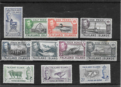 Falkland Isles R549 Coll Of Mm And Used Stamps