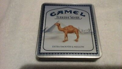 Camel Turkish Silver 2005 Zippo And Collector Tin