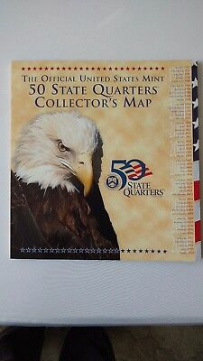 50 State Quarters Collector`s Map