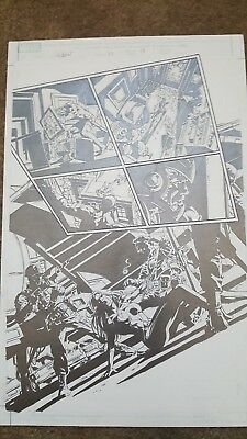 Thunderbolts Issue 115, Pg. 17 Original Art - Mike Deodato