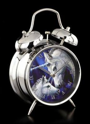 Unicorn Traditional Double Bell Chrome Alarm Clock