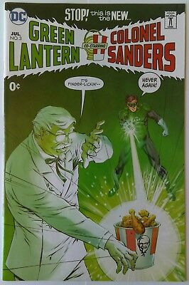 SDCC 2017 Exclusive DC KFC #3 Green Lantern Co-Starring Colonel Sanders