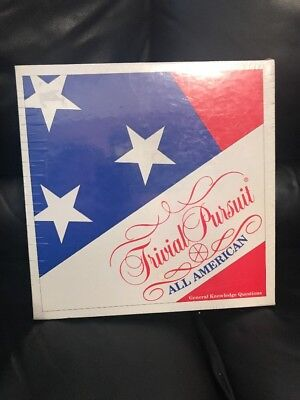 Trivial Pursuit ALL AMERICAN EDITION Board Game by Parker Brothers Vintage 1993