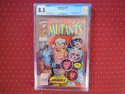 New Mutants 87 CGC 8.5 1st Cable Liefeld Marvel Deadpool