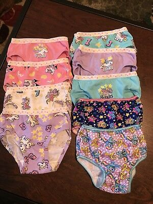 Fruit Of The Loom Toddler Girl Underwear Size 2/3T