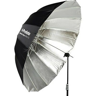"""Pair of Profoto Deep Silver AND Deep White Umbrellas (Extra Large, 65"""")"""