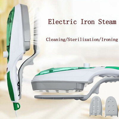 Clothes Portable Home Handheld Fabric Steam Iron Laundry Electric Steamer Brush