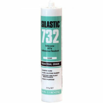 SILASTIC 732 - CLEAR RTV Silicone Sealant Adhesive - INDUSTRIAL GRADE