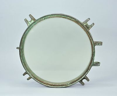 Vintage Brass Ship's Porthole Window Nautical Ship Boat Maritime A