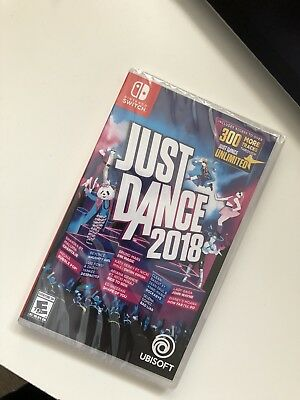 Just Dance 2018 brand new sealed (Nintendo Switch, 2017)