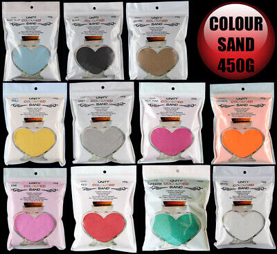 Bulk 40x Premium Quartz Wedding Coloured Sand 450g (18kg)