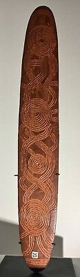 A Superb and large Central Australian churinga Late 19th early 20th C