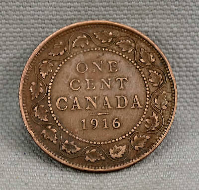 Canada 1916 Large One Cent Coin!!   No Reserve!