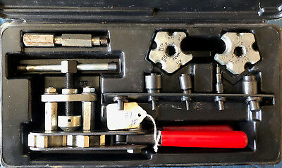 Jasco-Wolco Tools Tubing Flaring Tool & Tool Kit With Case, USED, Good Condition