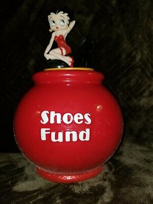 Betty Boop Shoes Fund. Westland Giftware Item #6987. 2004 Kings Feature Synd.