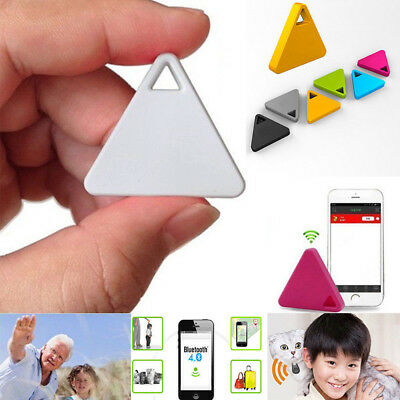 Triangle/Square Bluetooth SPY Tracker Finder Car Motorcycle Pets Kids Anti Lost