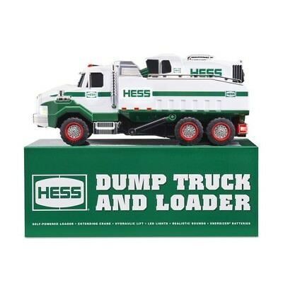 2017 Hess Toy Truck - Dump Truck and Loader - New in Box