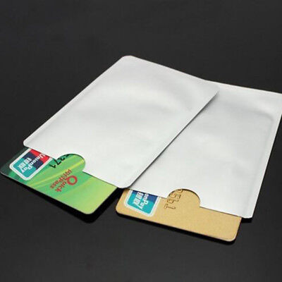 30x Secure Shield RFID Blocking Sleeve Protect for Payment/ID/Debit/Credit Card