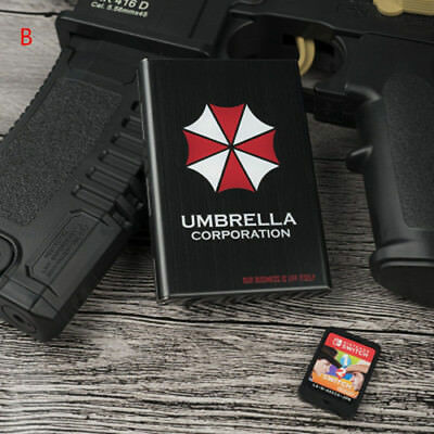 Resident Evil Umbrella Corps Steel Card Memory Box For NS Switch Limited Be