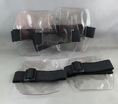 ARMBAND ID CARD HOLDER x 5 (PORTRAIT) IDEAL FOR SECURITY LIC ID OR OTHER ID's